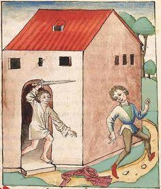 Antonius <von Pforr> Buch der Beispiele der alten Weisen — Oberschwaben, um 1475 Cod. Pal. germ. 466 Folio 8r