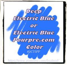 buDeepElectricBlueElectricBluePourpre.comLisaBWD
