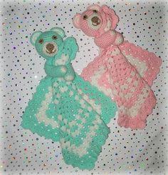 INSPIRATION ...NOT FREE....Large Teddy Lovey Crochet Pattern pattern on Craftsy.com