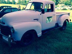Pink Truck! Vintage Lillies