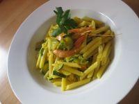 Pasta zucchine e mazzancolle light