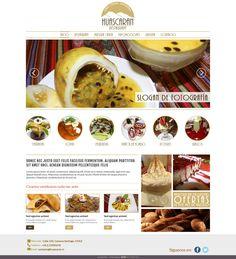 Maqueta de Sitio Web para restaurante