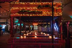 Pop-up rainforest with 5 bars and a dance floor. Night Tales - 288 Old Street, London, EC1V 9DP