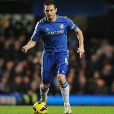 Frank Lampard - Chelsea, England, midfielder