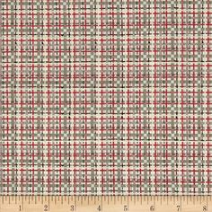 Timberland Critters Foxy Tweed Grey/Red from Designed by ADORNit Girls, this cotton print fabric is perfect for quilting, apparel and home decor accents. Colors include cream, red, taupe and tan. Fox Fabric, Timberland, Fabric Design, Tweed, Printing On Fabric, Taupe, Sewing Projects, Quilting, Cream