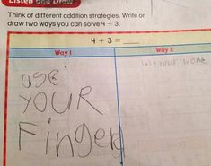 Funny Test Answers from Smart Ass Kids: Borderline Genius 27 Funniest Kid Test Answers, Kids Test Answers, Funny School Answers, Homework Humor, Funny Kids Homework, Funny Relationship Quotes, Funny Quotes For Teens, School Humor, Super Funny