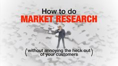 If you've been running your business or spending money on marketing with old data, it could be that two simple questions will open up a world of customers waiting for your solutions. How to do market research without annoying the heck out of your customers.
