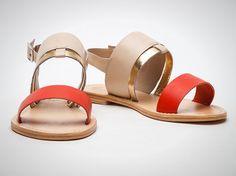 20 Flat Sandals for Summer Fun via Brit + Co.