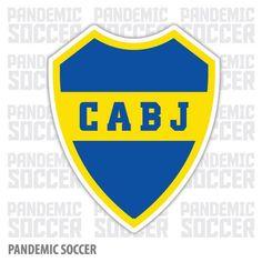 Boca Juniors Retro Argentina Vinyl Sticker Decal Calcomania