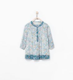 Zara kız bebek elbise