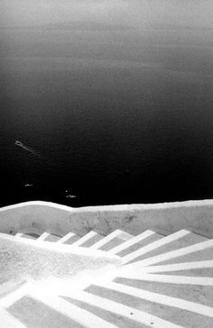 Stairs, Santorini,  Greece, 1991