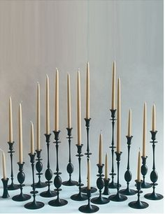 ted meulhing candlesticks..wish list