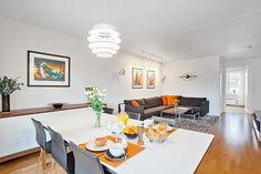 GRÜNERLØKKA - Lekker 3-roms toppleilighet med balkong, heis og