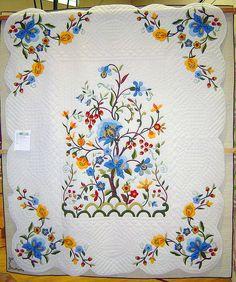 Layout idea for William Morris quilt