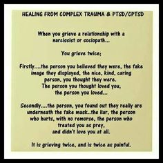 Grieving a narcissistic sociopath relationship. A recovery from narcissistic sociopath relationship abuse. Healing from PTSD. Narcissistic Personality Disorder, Narcissistic Sociopath, Sociopath Traits, Narcissistic People, Narcissistic Mother, Relationship With A Narcissist, Toxic Relationships, Relationship Quotes, Just In Case