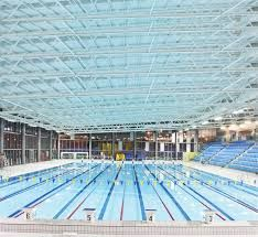 Liverpool aquatics centre has a 50 metre olympic size pool with moveable floors arquitetura for International swimming pool cardiff