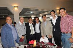 En el festejo del 65 aniversario: El exalcalde Jorge Chaurand Arzate, algunos regidores del cabildo y nuestros invitados.