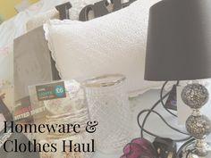 Homeware and Mini Clothes Haul! EEK!