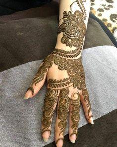 Henna Hand Designs, Dulhan Mehndi Designs, Mehandi Designs, Mehndi Designs Finger, Khafif Mehndi Design, Modern Henna Designs, Latest Bridal Mehndi Designs, Full Hand Mehndi Designs, Mehndi Designs For Girls