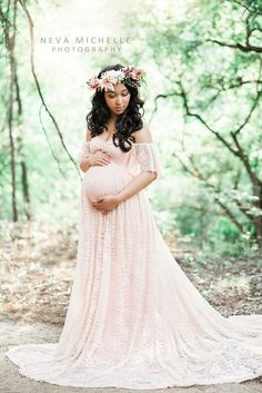Julianna blush maternity dress,Maternity Gown,fully lined,mermaid gown,bohemian dress,bridal,wedding,bridesmaids,flower girl by designbycboutique on Etsy https://www.etsy.com/listing/525416939/julianna-blush-maternity-dressmaternity