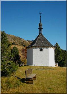 Riederalp's chapel, Valais  http://www.schoene-aussichten.travel/region/wallis/