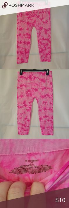 PINK Leggings Junior L/XL No Boundaries PINK Leggings Junior L/XL No Boundaries No Boundaries Pants Leggings