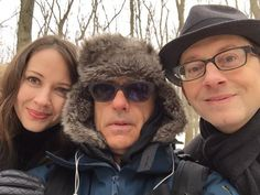 Amy Acker, Michael Emerson News and Stephen D Surjik - Person of Interest - set