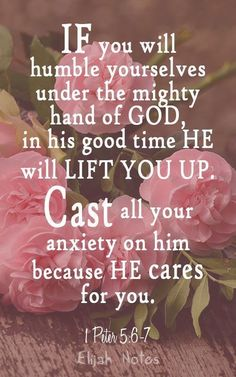 He Will Lift You Up