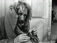 Homeless Vietnam Vet in DC