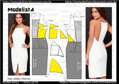 Tremendous Sewing Make Your Own Clothes Ideas. Prodigious Sewing Make Your Own Clothes Ideas. Sewing Dress, Dress Sewing Patterns, Sewing Clothes, Clothing Patterns, Diy Clothes, Fashion Sewing, Diy Fashion, Fashion Outfits, Modelista