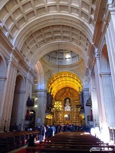Interior da Sé Nova - Coimbra