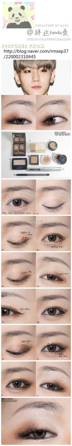 asian make up EXO