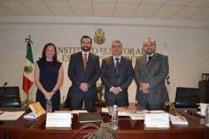 Consejeros del Instituto Electoral del Estado de Querétaro (IEEQ) presentaron el libro 'El Proceso Electoral 2014-2015. Una visión desde lo...
