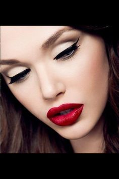 A matt red Pout  Guys use 408 red lipstick  which gives a perfect matt pout  If you feel it's dry use lip defence treatment