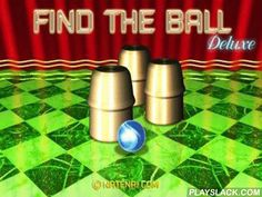 """Find The Ball  Android Game - playslack.com , Game """"thimbles"""".  Unlike game in experience, here you can be convinced that everything is honest.  You need all your attention to line under what bowl the ball disappears.  If you guess the accurate bowl, you will pass to the next level."""