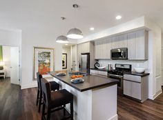 luxury apartments kitchen. model kitchen at amli lex on orange a luxury apartment community in glendale ca apartments