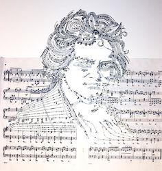 Reconfigurando partituras musicales