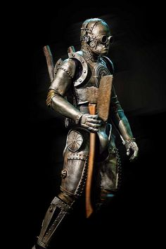 Steampunk Tin-Man by D*Con Blue, via Flickr Steampunk Cosplay, Steampunk Halloween, Steampunk Men, Steampunk Couture, Steampunk Fashion, Tin Man Costumes, Robot Costumes, Cyberpunk, Sci Fi Comics