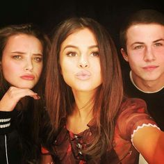 Katherine, Selena and Dylan- 13 reasons why