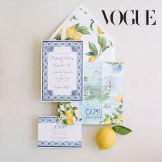 Destination wedding invitations by Lemontree Paper Co (Lemontree Calligraphy & Illustration)