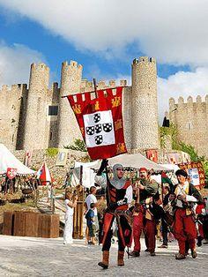 Mercado Medieval de Óbidos este ano com muitas novidades - Município de Óbidos  Medieval Fair in  Óbidos, Portugal