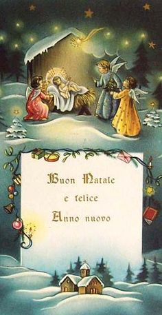italian delicious christmas and a blessed new year - Merry Christmas In Italian Translation