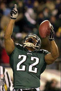 Philadelphia Eagles RB Duce Staley