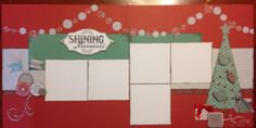 Friday sketch challenge - Close to My Heart Sparkle and Shine 2 page layout