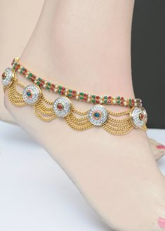 Designer Indian Anklet