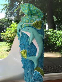 """Schultüten - Schultüte Zuckertüte """"Delfin"""" - ein Designerstück von frech-und-frei-by-lala bei DaWanda"""