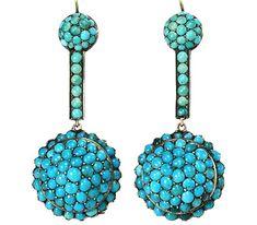 Haute Tramp C Turquoiseturquoise Earringsturquoise Jewelryvintage Turquoiseaqua