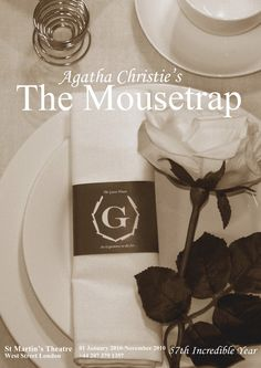 The Mousetrap Agatha Christie | Personal work: Agatha Christie's The Mousetrap