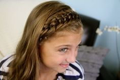 The Knotted Braid Headband tutorial... so easy, and very beautiful!