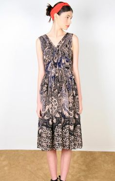 2014 Printed Casual Dress
